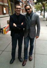 Mr Langbein aka Foffy (right)