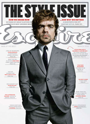 Esquire Style Issue – March, 2014