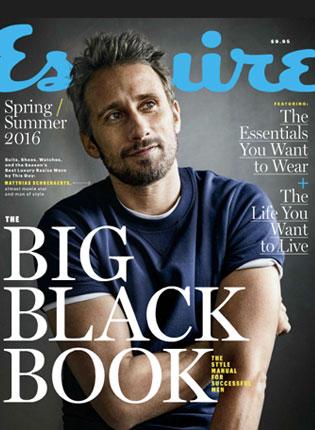 Esquire Big Black Book – Summer, 2016
