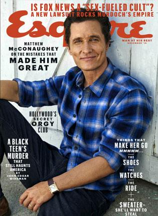 Esquire – November, 2016