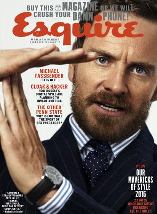 Esquire – December, 2016
